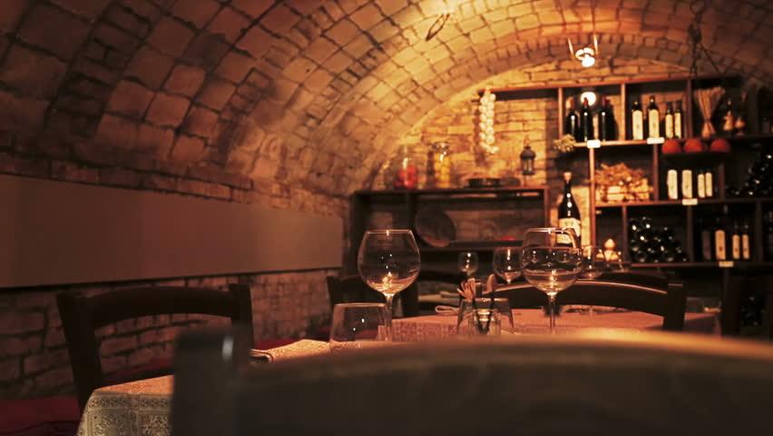 Stock Video Of Wine Cellar Full Of Wine Bottles 4186517