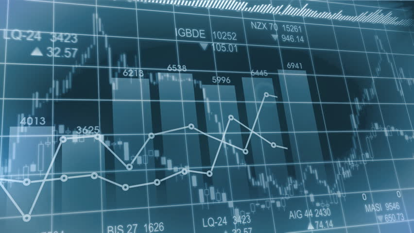 Seamlessly looping abstract animation of financial stock data | Shutterstock HD Video #4187297
