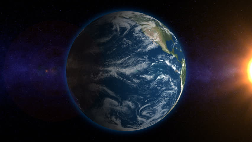 Rotating Earth with Real Evolving Stock Footage Video (100% Royalty-free)  418927 | Shutterstock