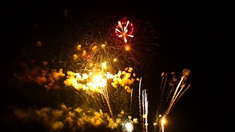 Fireworks Display, Apple Valley Minnesota Freedom Days Fireworks Finale (With Cheering in Audio)