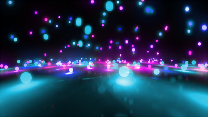colorful light balls background can be use for any fashion and concert theme.