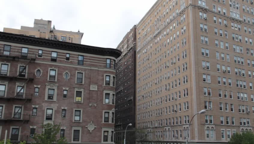 NYC Apartment Buildings On Upper West Side Stock Footage Video 4218307 |  Shutterstock