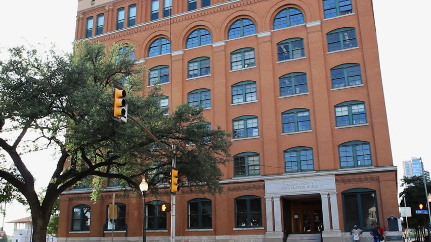 DALLAS   JULY 12: The Book Depository With The Sixth Floor Museum In  Downtown Dallas Is A Popular Visitor Spot Remembering The Tragedy Of The  Kennedy ...