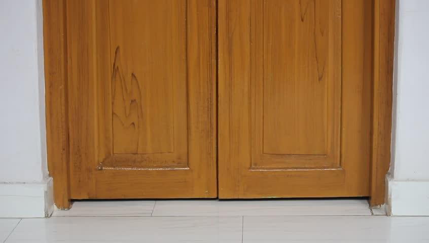 Golden Colour Shade Door in Stock Footage Video (100% Royalty-free) 4258247  | Shutterstock