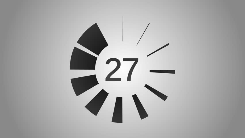Countdown 30-0 | Shutterstock HD Video #4344392