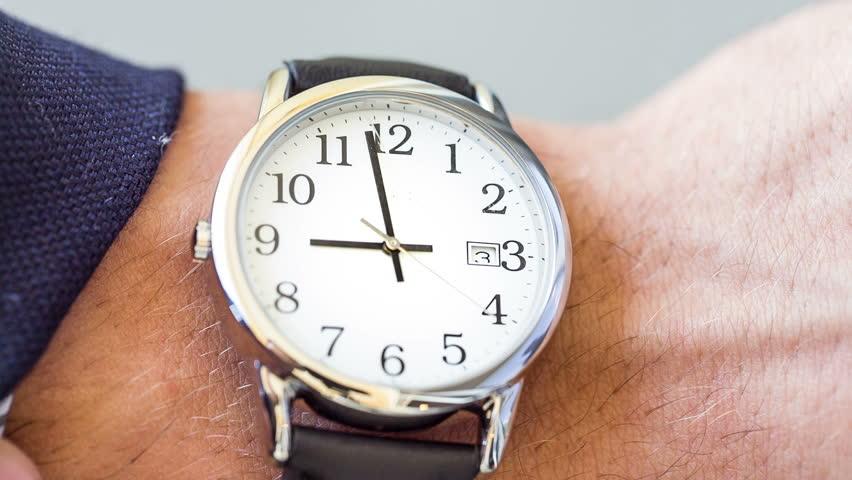 Looking at Watch | Shutterstock HD Video #4347923