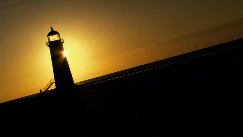 Lit Up Lighthouse Stock Video Footage 4k And Hd Video Clips