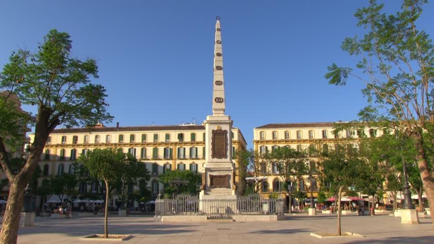 Plaza De La Merced An Stock Footage Video 100 Royalty Free 4368977 Shutterstock