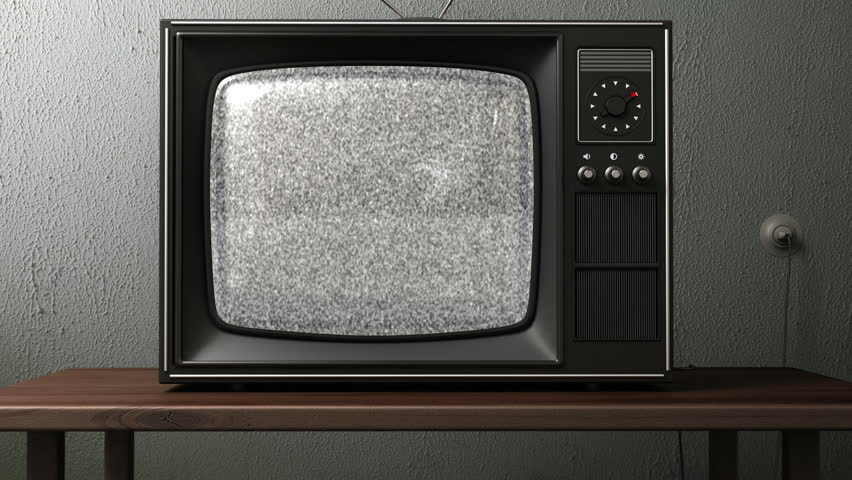 Old TV. switching channels | Shutterstock HD Video #4380197