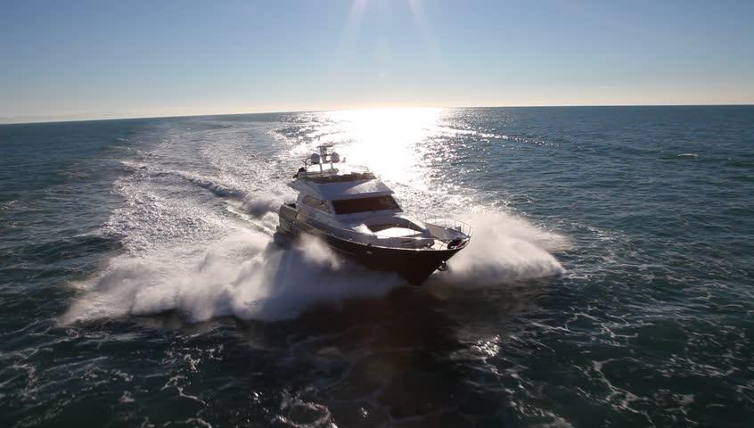 motor boat, yacht