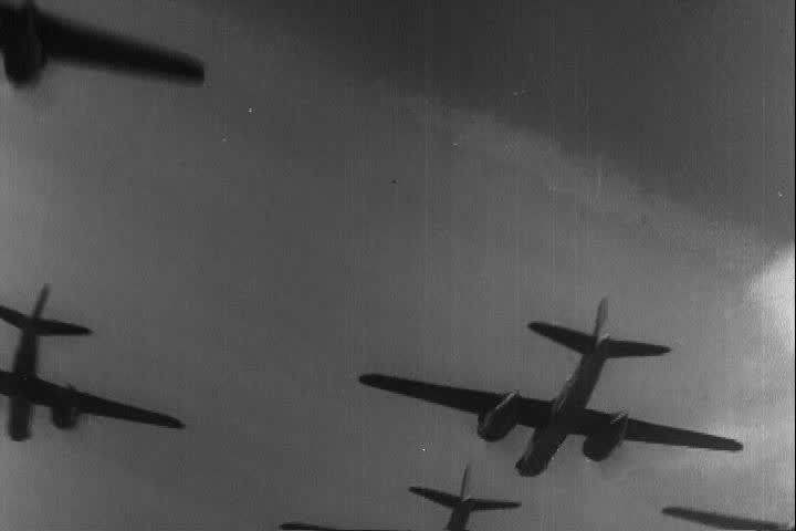 1940s - Silent film about the Battle of Dunkirk in World War Two.