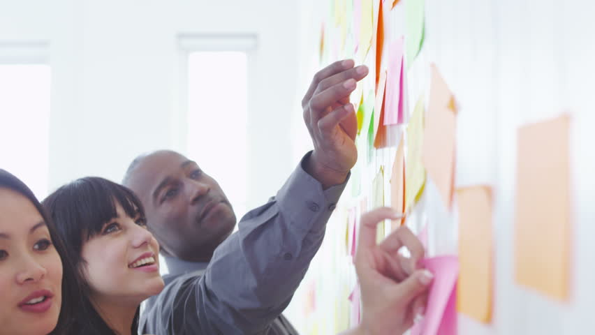 Creative business team brainstorming ideas and concepts | Shutterstock HD Video #4502027