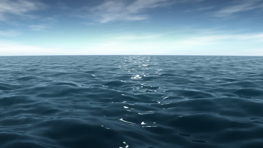 Sea/Ocean;The vast sea;The blue sky;
