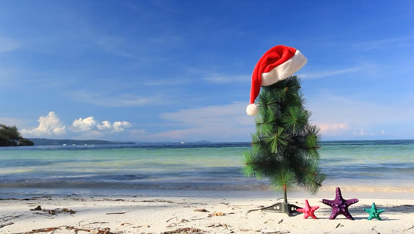 browse video categories - Christmas At The Beach