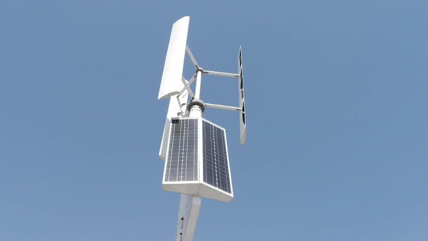 Wind solar turbine and new power energy. gh2_01418