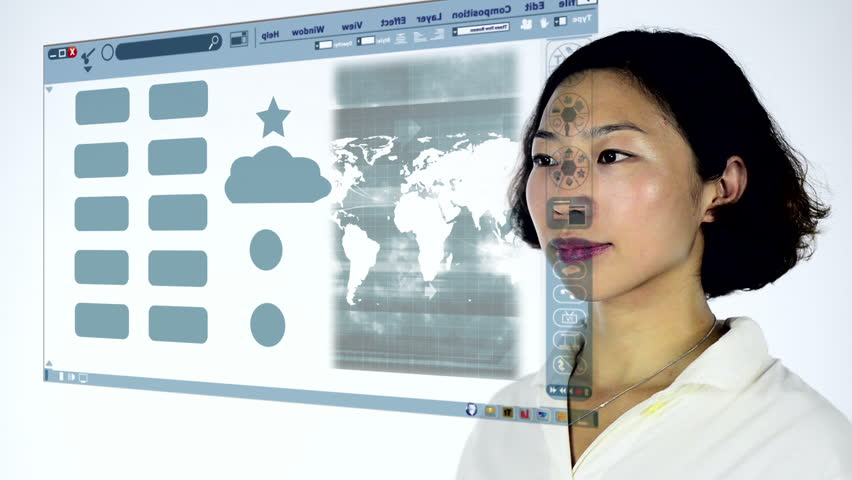 Teacher using interactive whiteboard and laser pointer to show the whiteboard sketch of a cloud computing concept hd stock footage clip gumiabroncs Gallery