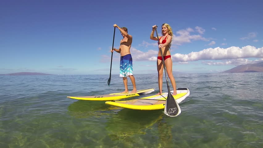 Stand Up Paddling in Hawaii