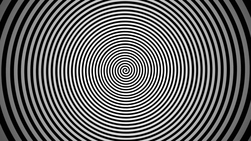 Loopable video 1920x1080 - Endlessly rotating hypnotic spiral. Look into the center.