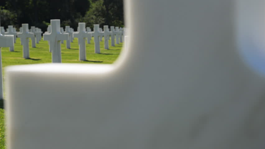 American war cemetery, France