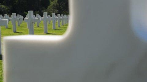 American war cemetery, France
