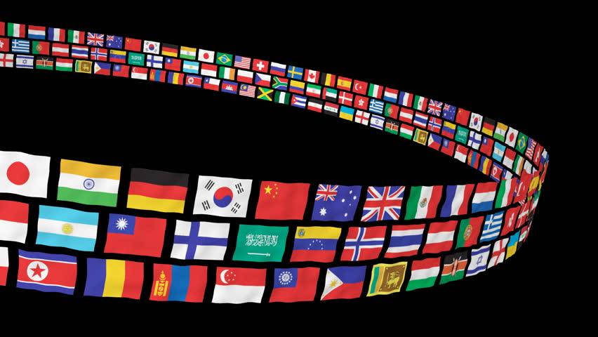 Flag Theme 02 (HD) - English Speaking Countries - Motion ...
