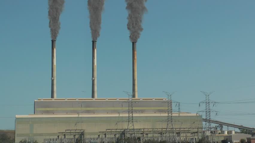 Power plant 3 stack far shot