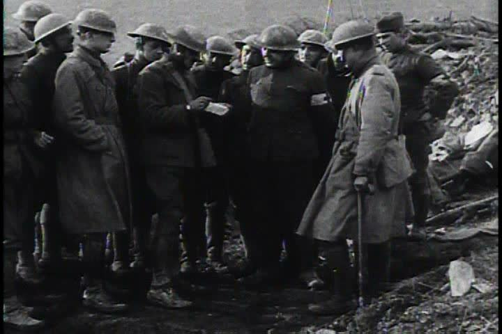 1910s - World War One ends and the world celebrates.
