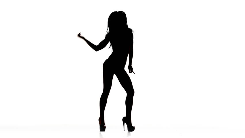 Dvd silhouette of naked women dancing are