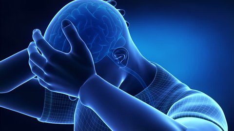Headache with pain from cervical spine
