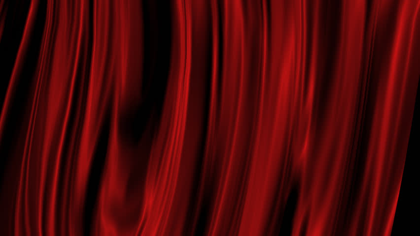 Red Curtain with Alpha Channel  | Shutterstock HD Video #4915517