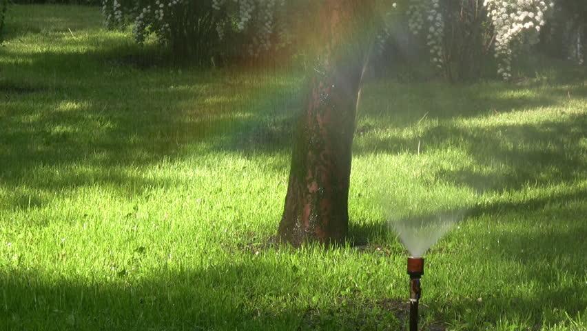 Water spray. | Shutterstock HD Video #4924097