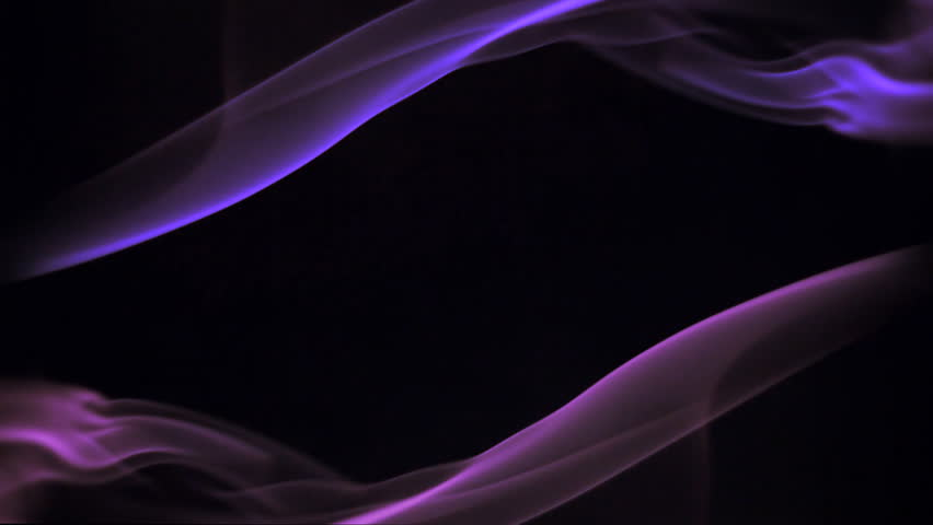 Footlights Background Video Effects Hd: Stock Video Of Spin Of Multicolor Smoke In Black