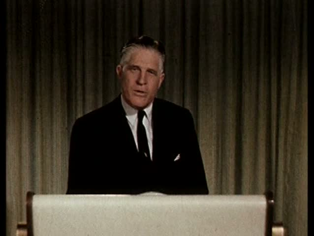 1960s - Governor George Romney, Mitt Romney's father, delivers a speech advocating the olympics be held in Detroit during the 1960s