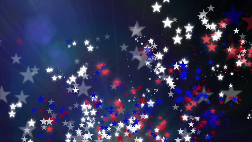 Red White And Blue Stars Stock Footage Video 100 Royalty Free