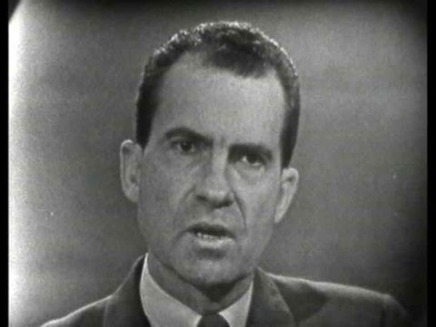 1960s - Nixon speaks on Farm policy, speaks about his advice to Eisenhower