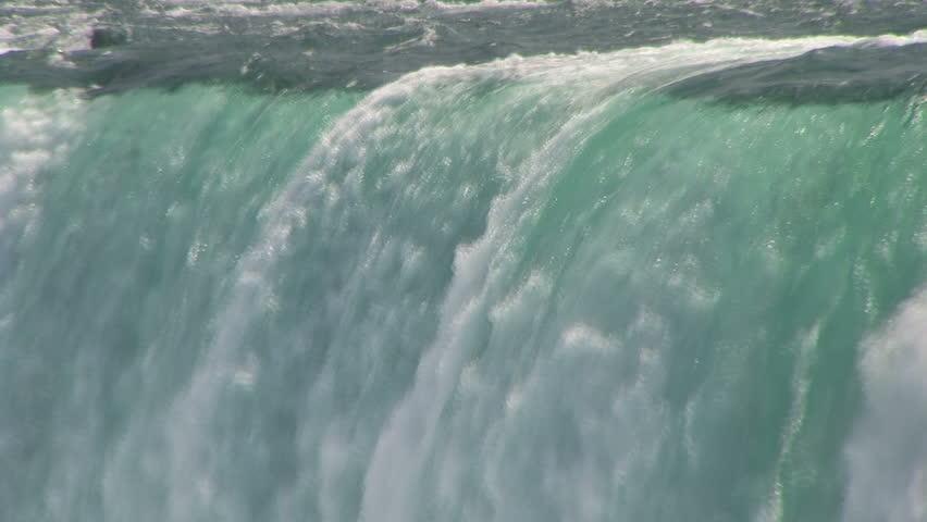 Water. Niagara Falls, Ontario, Canada.