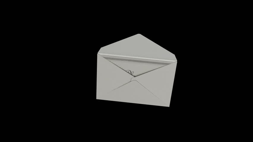 Opening envelope. Invitation for different occasions. Include two version and alpha channel for paper and subtitles (invitation and join us) | Shutterstock HD Video #5029043