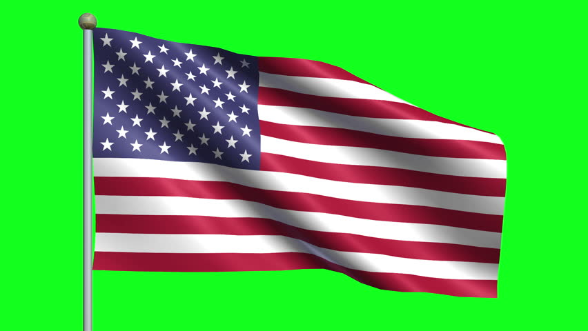 Flag Of THe United States Animation Loop #5037077
