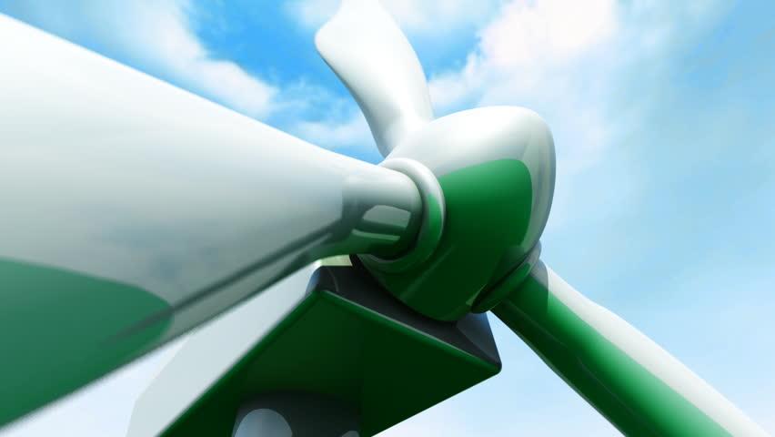 Wind Farm animation    Shutterstock HD Video #509227