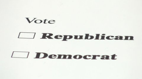 Voting for the republican party