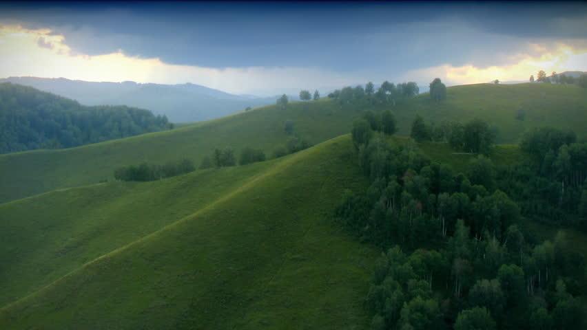 Green hills timelapse. #517447