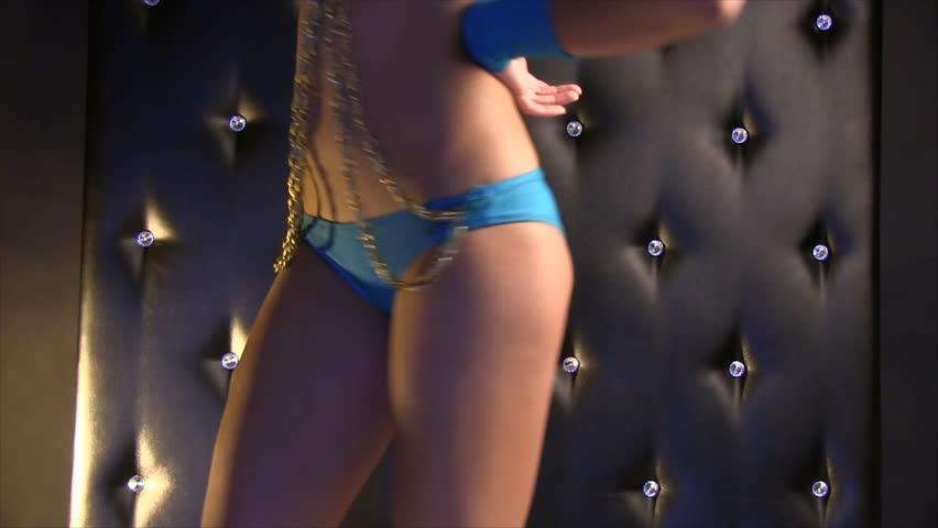 Glamorous girl dancing | Shutterstock HD Video #5189567