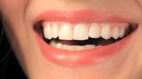 Woman teeth smiling and laughing hd 1920x1080 high definition