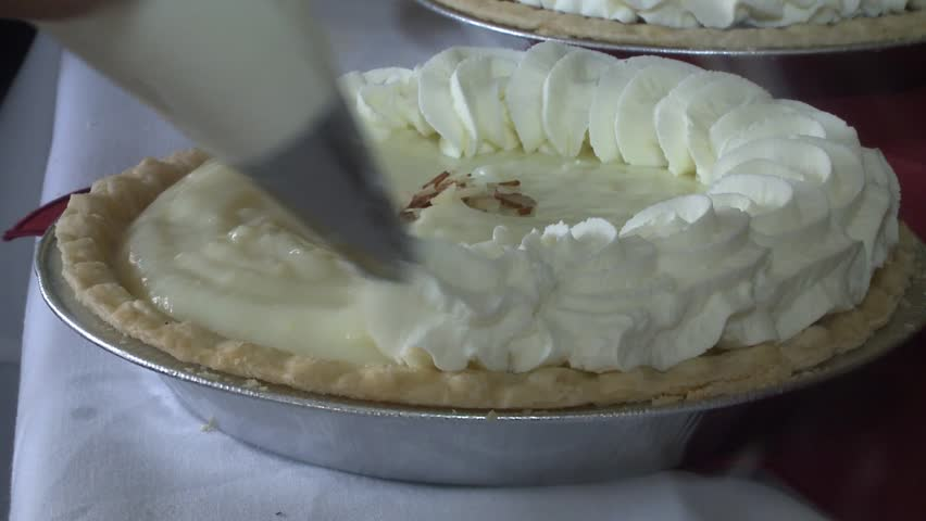 Slow Motion Cream Pie