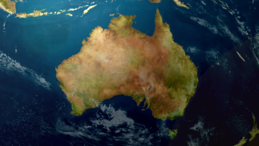 Map Of Australia From Space.Earth Zoom To Australia Available Stock Footage Video 100 Royalty Free 5235797 Shutterstock