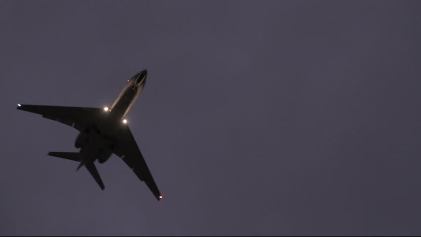 Private Jet On Landing Approach Stock Footage Video (100% Royalty-free)  5240927   Shutterstock