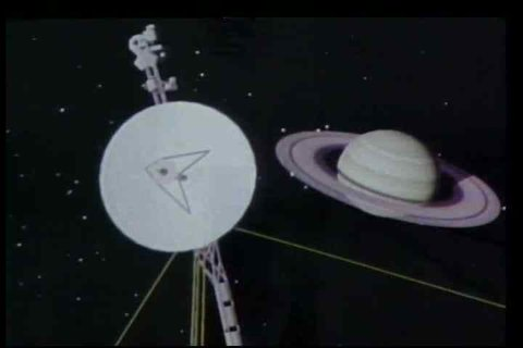 Highlights of programs undertaken by NASA in 1981 including Voyager II's mission to Saturn, and research on Venus.