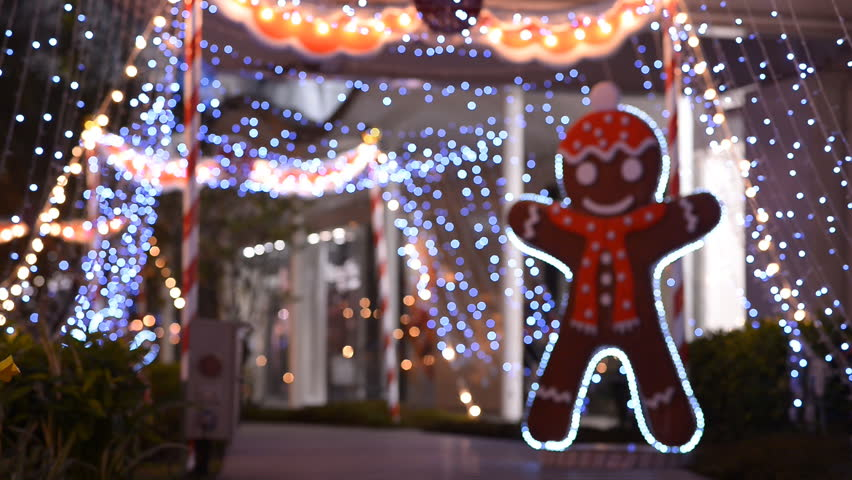 Avenue at Christmas | Shutterstock HD Video #5295257