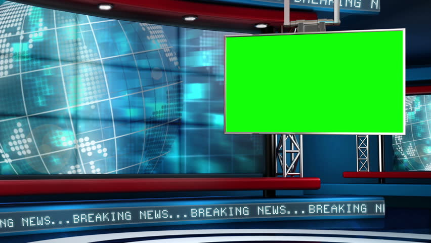 This Looping News Set is Stock Footage Video (100% Royalty-free) 5317157 |  Shutterstock