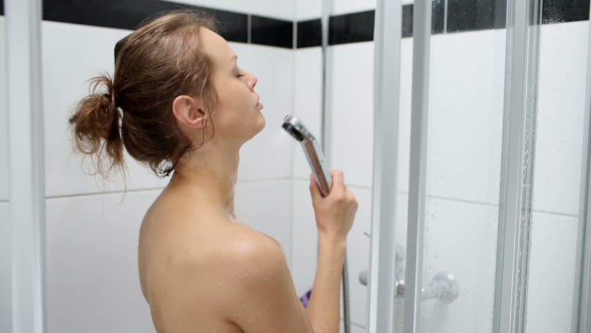 Girl in shower video